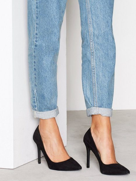 NLY Shoes Slim Pump Pumps Svart