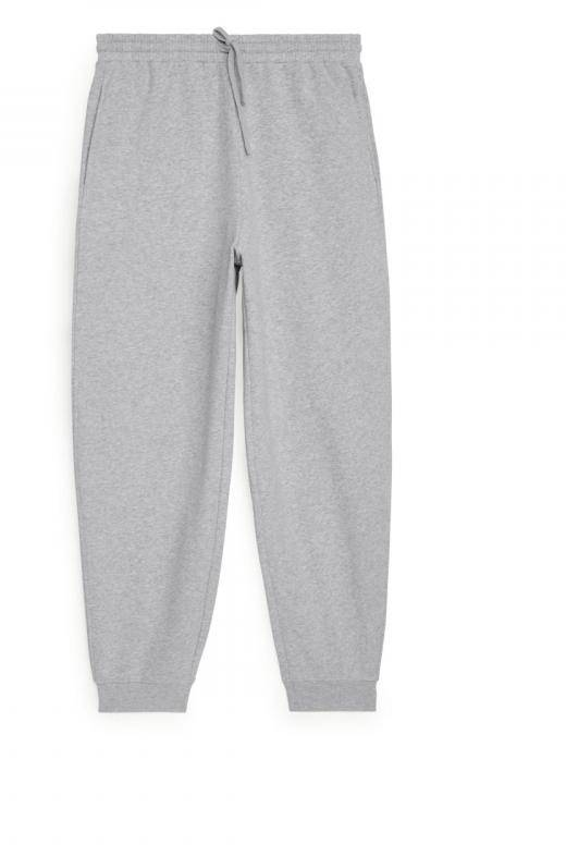 French Terry Sweatpants - Grey